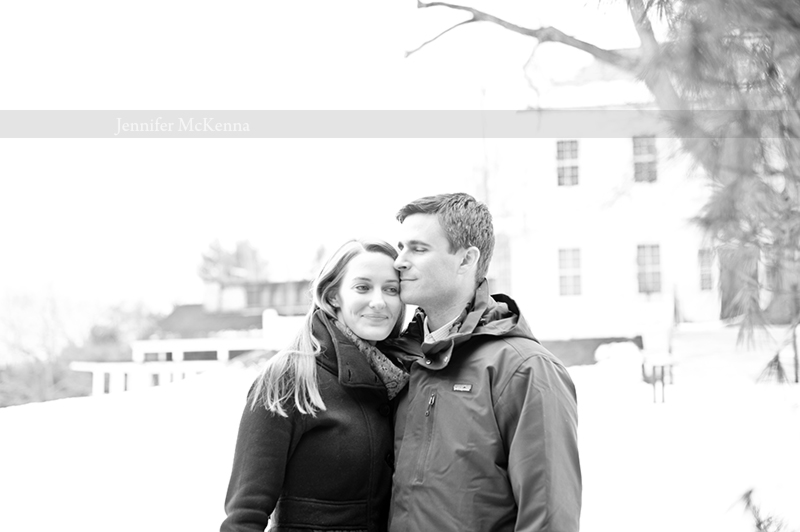 Winter Engagement Shoot | Jennifer McKenna Photography