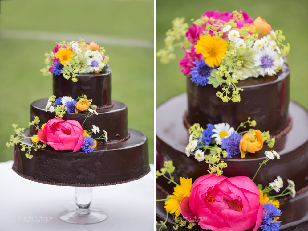 Wedding cake by the daily chocolate vergennes